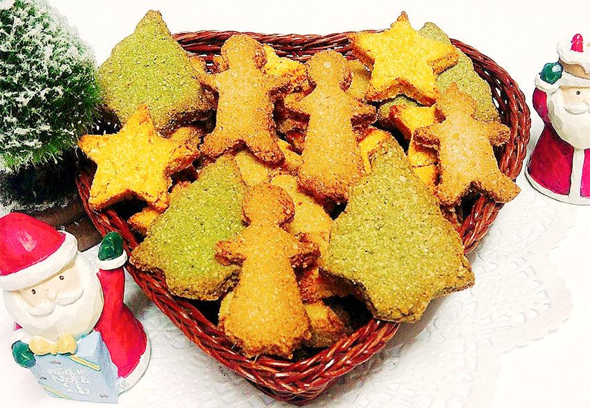 クリスマスにぴったり 低GIクッキーのアイキャッチ