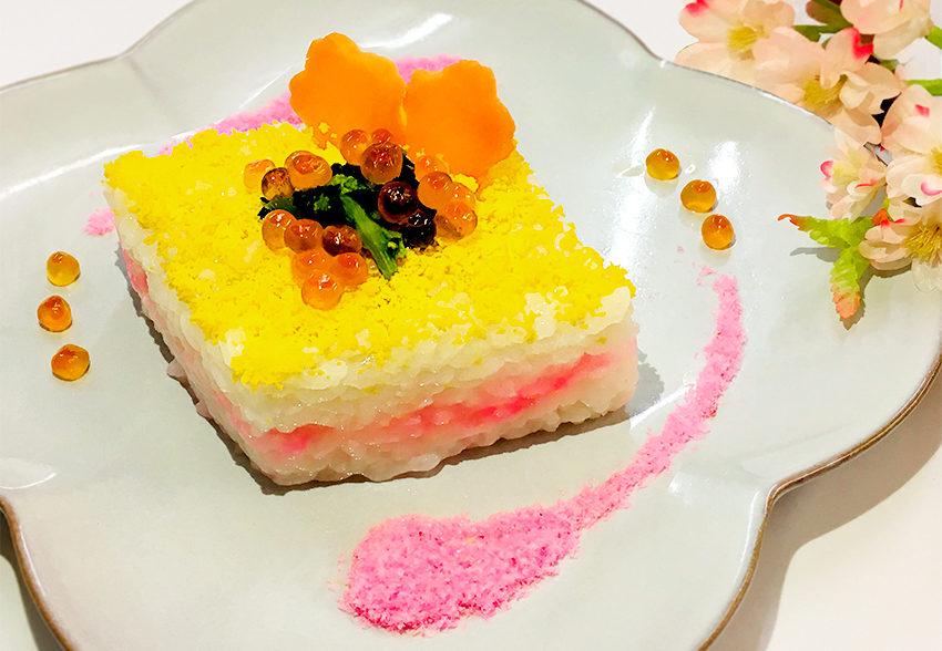 高齢の方におすすめ!ソフト食で作る 春色ちらし寿司のアイキャッチ