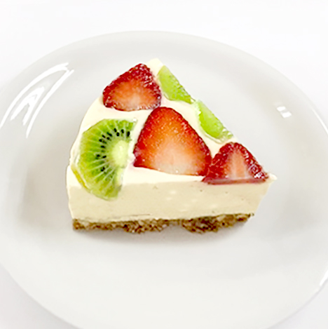 高齢者の低栄養を改善! 甘酒のレアチーズケーキのアイキャッチ