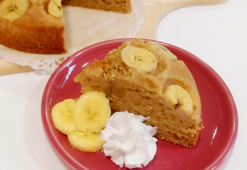 アーモンドの栄養をこっそり摂取 黒糖バナナケーキのアイキャッチ