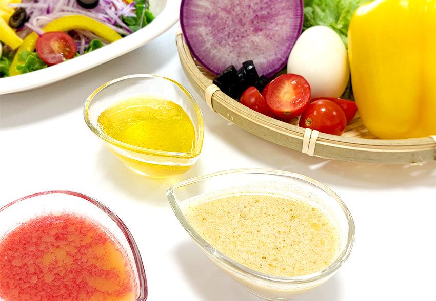 オリーブオイルで動脈硬化予防「からだにおいしい健康ドレッシング」のアイキャッチ