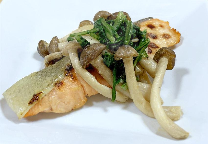 いつもの焼き鮭をエネルギーアップ「秋鮭の味噌マヨ焼き」のアイキャッチ