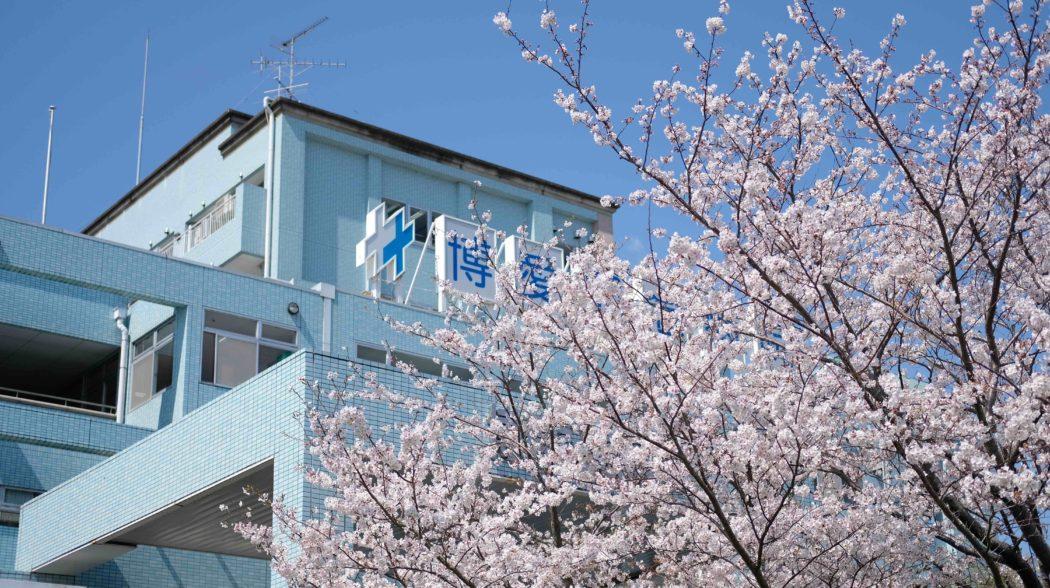 グループSNSで、病院・施設の桜をご紹介しています。のアイキャッチ