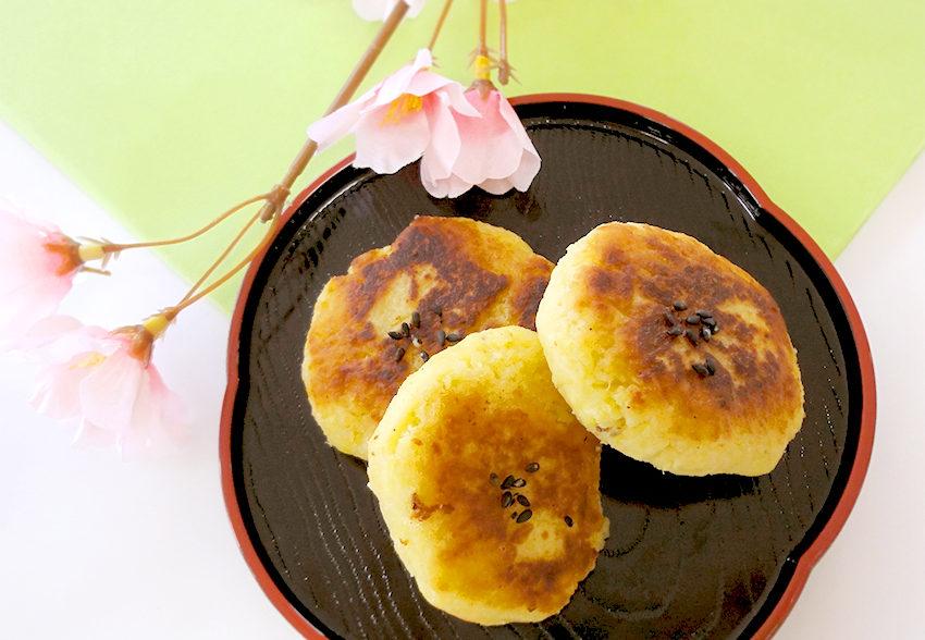 食物繊維をおいしく手軽に摂れる「サツマイモもち」のアイキャッチ